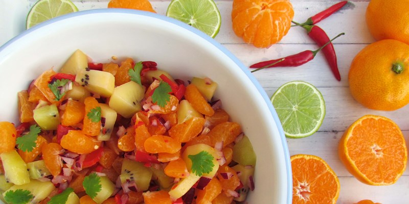 Mandarin and Kiwifruit Salsa