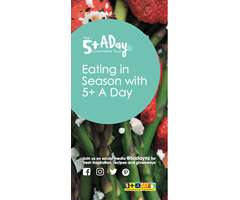 Eating in Season with 5+ A Day Brochure