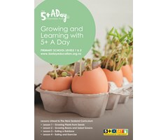 Book 1: Growing and Learning with 5+ A Day, Levels 1 & 2