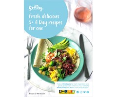 Fresh, delicious 5+ A Day recipes for one - Winter