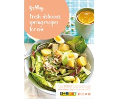 Fresh, delicious 5+ A Day recipes for one - Spring