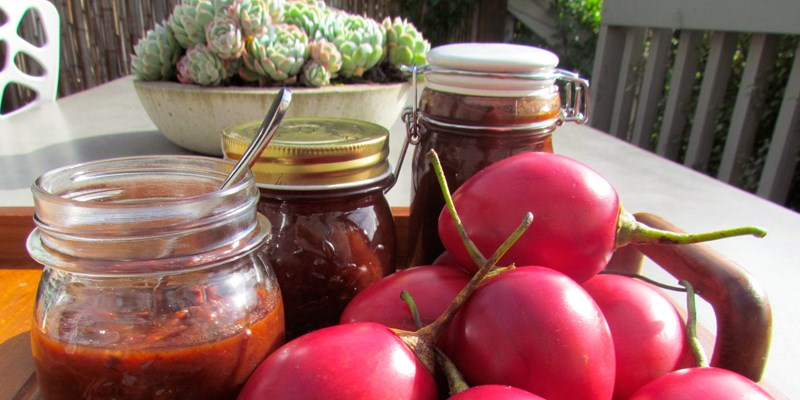 Traditional Tamarillo Chutney